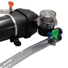 Super Transfer Pump with Removable Pre-Filter Homebrewers Outpost H308